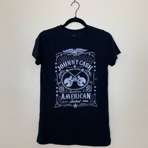 Tops - Johnny Cash Graphic Tee